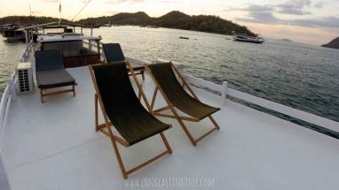 Sun chair in Sun deck