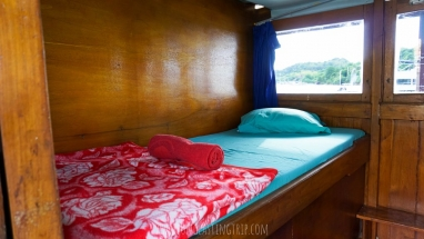 Single Bed at Second Cabin