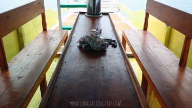 Sailing Komodo Standard Boat 10 Person - Living Room/Dinning Area