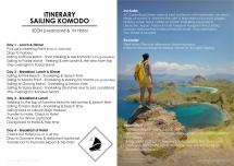 Open Trip - Sailing Komodo 4D3N